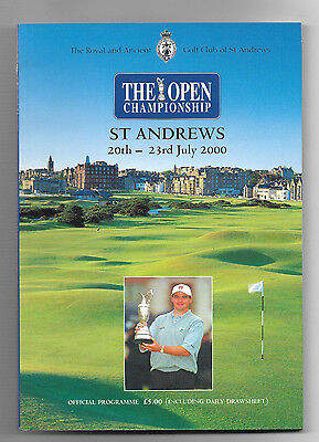 2000 British Open Golf Championship (ST. ANDREWS) Official Programme