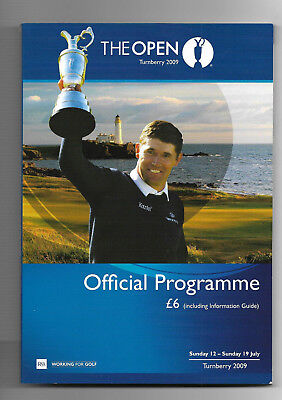 2009 British Open Golf Championship (TURNBERRY) Official Programme