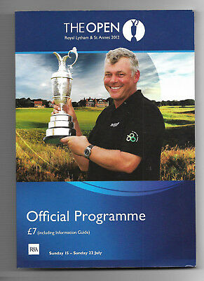 2012 British Open Golf Championship (ROYAL LYTHAM & ST ANNES) Official Programme