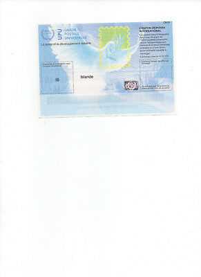 buono coupon reponse reply irc island iceland istanbul 2017 Antwortschein