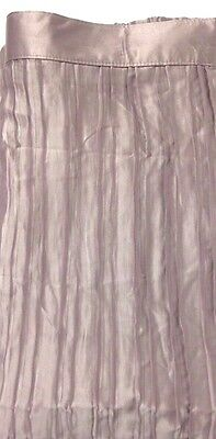Royal VelvetR Crashed Waves Shower Curtain 72x72in Toasted Taupe A102