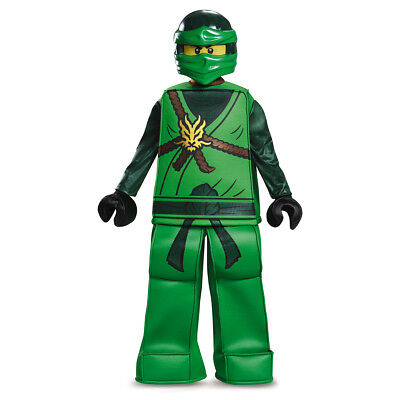 Lloyd Prestige Ninjago Green LEGO Child Costume | Disguise 98132