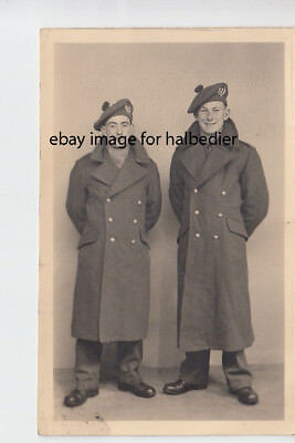 Studio portrait of 2 Cameronian? soldiers by Barry's Studio Hawick