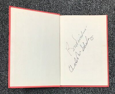 Charles M. Schulz Signed Peanuts Snoopy & The Red Baron Book Autograph JSA LOA