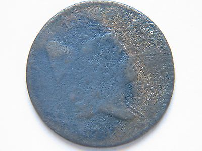 "1797 1 above 1 1/2c half cent rare key date type coin  ""details"""