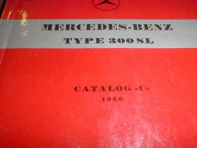 vintage MERCEDES BENZ TYPE 300 SL CATALOG C 1956 PRINTED IN GERMANY see all now