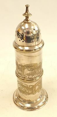 Antique Silver Plated EPNS SUGAR SHAKER With Lid  - F04