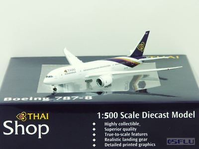 Herpa 1:500 526937 Boeing 787-8 Thai Airways International - NEU!