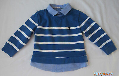 junior j boys jumper age 18-24 months
