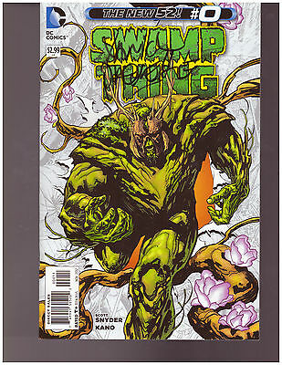 Swamp Thing #0 Signed Yanick Paquette #123