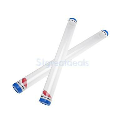 Fishing Protective Gear Plastic Float Tubes Length 40cm / 50cm with End Caps