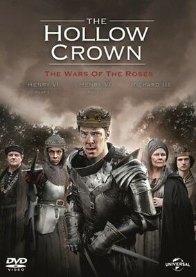 THE HOLLOW CROWN The Wars of the Roses Season 2 DVD BRAND NEW Region 2