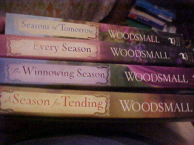 "Set Of 4 Cindy Woodsmall ""amish Vines & Orchards"" Paperback Books. 1--2--3.-4"