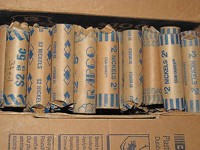 2000-2008 Canada Assorted Steel Five Cents Lot Of 47 Rolls B6213