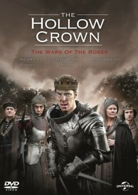 THE HOLLOW CROWN The Wars of the Roses Season 2 DVD NEW Region 2