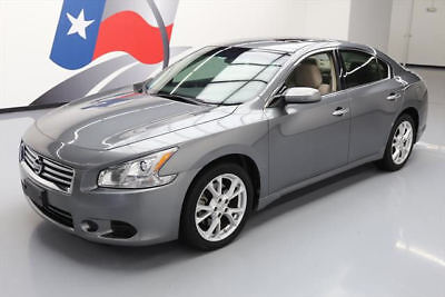 2014 Nissan Maxima  2014 NISSAN MAXIMA 3.5 S BLUETOOTH SUNROOF ALLOYS 30K #439200 Texas Direct Auto