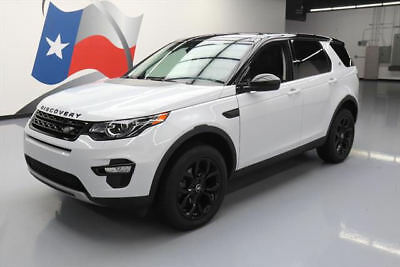 2015 Land Rover Discovery Sport HSE Sport Utility 4-Door 2015 LAND ROVER DISCOVERY SPORT HSE AWD PANO NAV 25K MI #516141 Texas Direct