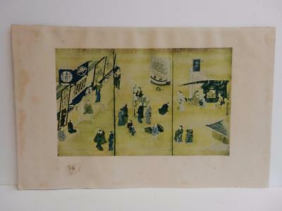 really old picture oriental JAPAN antique