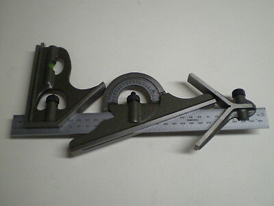 General MG-S278MM Combination Square Set