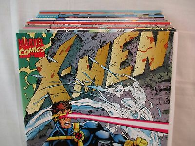 X-MEN #1-30 Complete Set Comic Lot Marvel 1991-1994 1st Prints Jim Lee