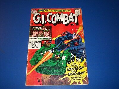 G.I. Combat #116 Silver Age Solid VG- Haunted Tank Wow War