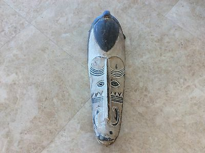 Large Antique African Africa carved Mask fang Ngil Cameroon