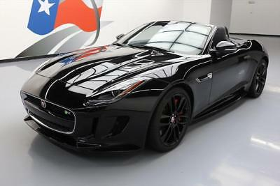 2016 Jaguar F-Type R Convertible 2-Door 2016 JAGUAR F-TYPE R 5.0 AWD CONVERTIBLE NAV 20'S 6K MI #K34445 Texas Direct