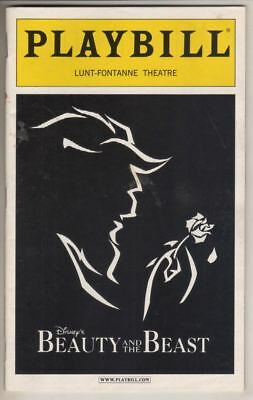 "Steve Blanchard & Brooke Tansley   ""Beauty and the Beast""   Playbill  2005"