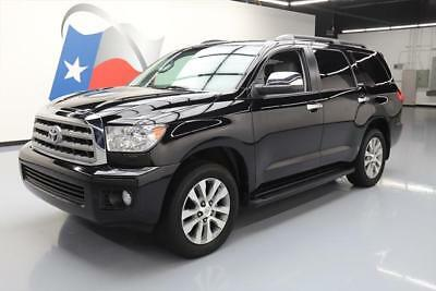 2016 Toyota Sequoia Limited Sport Utility 4-Door 2016 TOYOTA SEQUOIA LIMITED 8-PASS SUNROOF NAV 20'S 43K #064316 Texas Direct