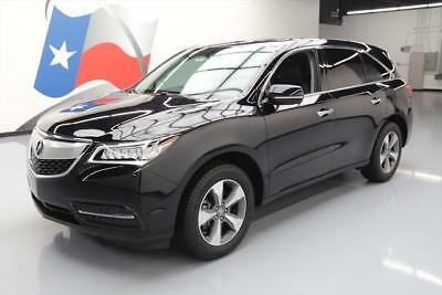 2016 Acura MDX Base Sport Utility 4-Door 2016 ACURA MDX 7-PASS SUNROOF HTD LEATHER REAR CAM 25K #016740 Texas Direct Auto