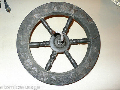 Vintage Spinning Wheel Main Wheel For Parts Or Project