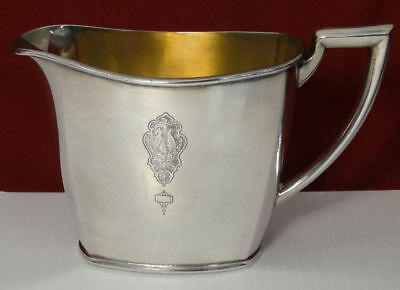 Oneida Community BIRD OF PARADISE Silver Plated Creamer Pitcher c1923 VHTF