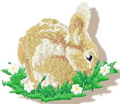 Realistic Rabbit 10 Machine Embroidery Designs Cd 2 Sizes