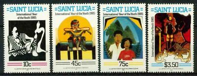 Saint Lucia 1985 SG 841 MNH 100% International Youth Year
