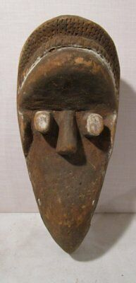 ANTIQUE AFRICAN DAN TRIBAL ART BIRD MASK Sotheby Parke Bernet AUCTION LABEL