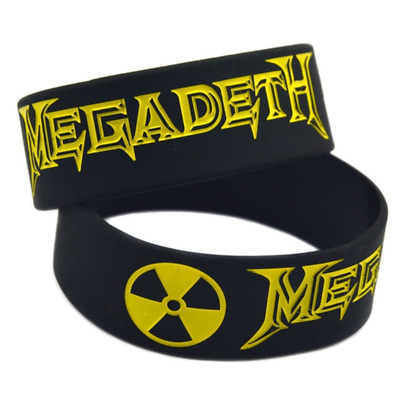 Megadeth Silicone Rubber Wristband bracelet jewelry new 1pcs