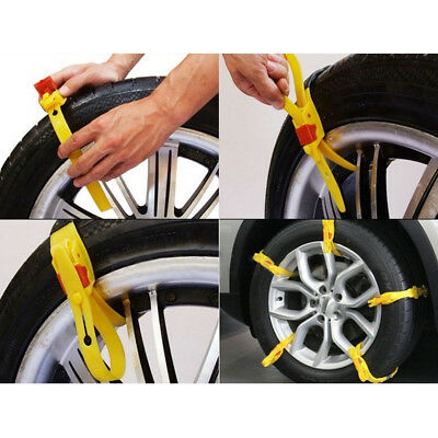 1 X Anti-skid Chains For Automobiles Snow Mud Wheel Tyre Car Truck Tire Ties HY