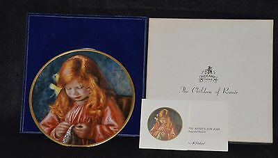 Pickard China Plate - The Children Of Renoir~ The Artist's Son Jean ~      `