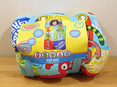 Yo Gabba Gabba Toddler Kids Nap Mat Napmat Carry Handle New