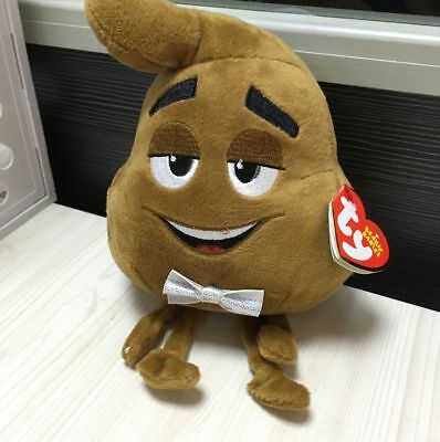 Lovely TY~ POOP~ SR from the EMOJI MOVIE ~ 2017 BRAND NEW