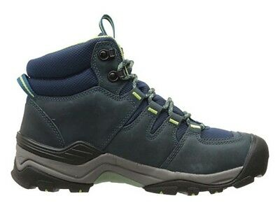 KEEN Gypsum II Mid Waterproof Womens Hiking Boots - Blue