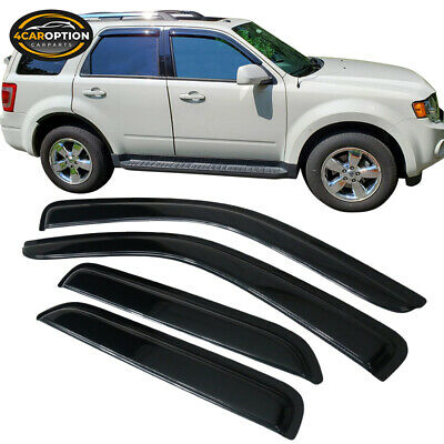 For 01-07 Ford Escape Acrylic Window Visors 4Pc Set
