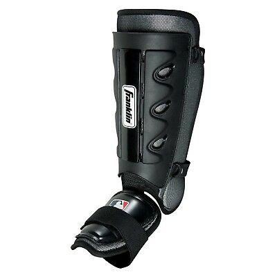 Franklin Sports MLB Baseball Adult Batter's Shin Guard With Memory Foam Lining