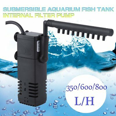 Multifunction Internal Aquarium Fish Tank Power Sponge Aqua Water Filter Pump UH