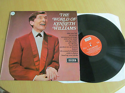 The World Of Kenneth Williams. 1970 Decca Lp