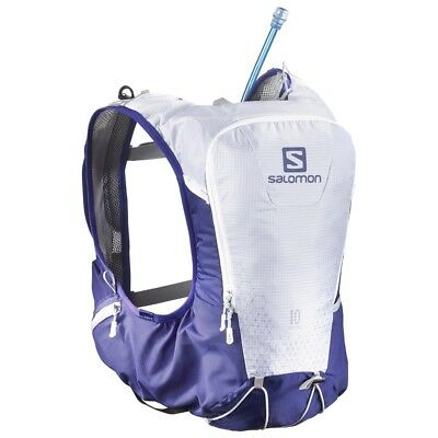 Salomon Skin Pro 10 Set Trail Running Vest- Spectrum Blue/White