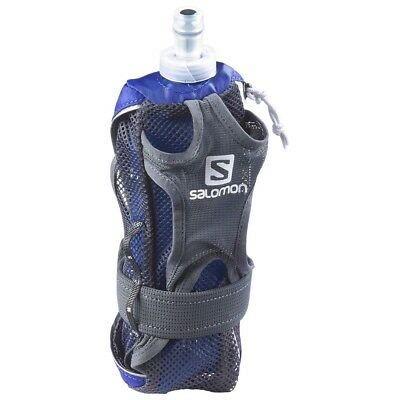 Salomon Hydro HandSet Running Bottle- Surf The Web/White