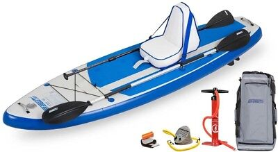 "Sea Eagle HB96 Hybrid 9'6"" Inflatable SUP- Deluxe Package"