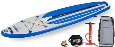Sea Eagle LB11 LongBoard Inflatable SUP- Electric Pump Package