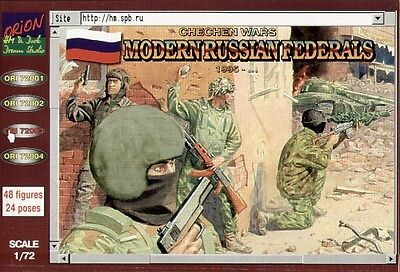 Orion 1/72 Modern Russian (Post WWII) Federals 1995 # 72003